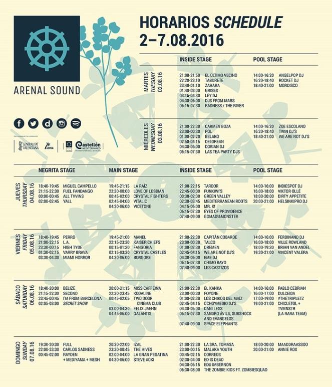 arenal-sound-2016-horarios