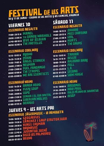 Festival-De-Les-Arts-horarios
