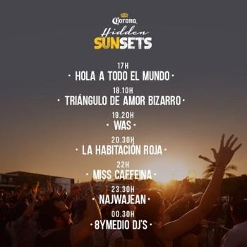 hidden-sunsets-corona-horarios