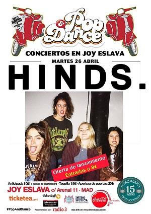 26/04 HINDS / Joy Eslava