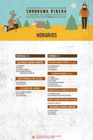 Sonorama-Ribera-2016-horarios-miercoles-domingo