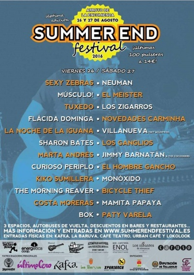 Summer-End-festival-2016-cartel