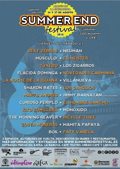 Summer-End-festival-2016-cartel