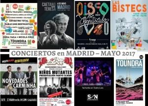 Agenda de conciertos en madrid en 2017 flores en el tico for Eventos madrid mayo 2017