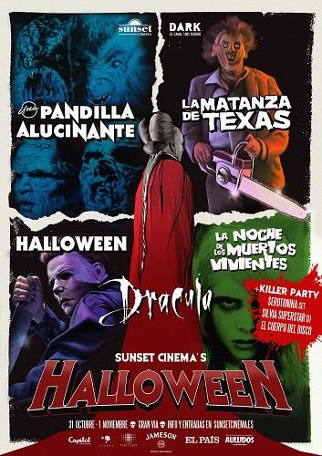 sunset-cinema-halloween-fiesta-matanza-texas-noche-muertos-vivientes-dracula